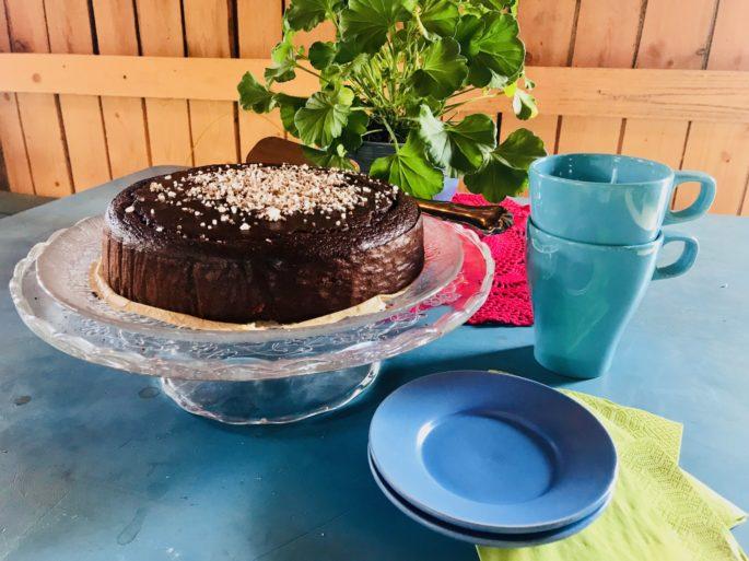 Torta di fagioli neri nel Café di Mari in Finlandia1